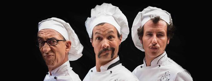 Risultati immagini per l'ultima cena 3 chefs